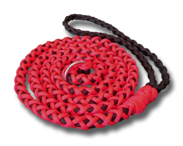 paracord dog slip lead
