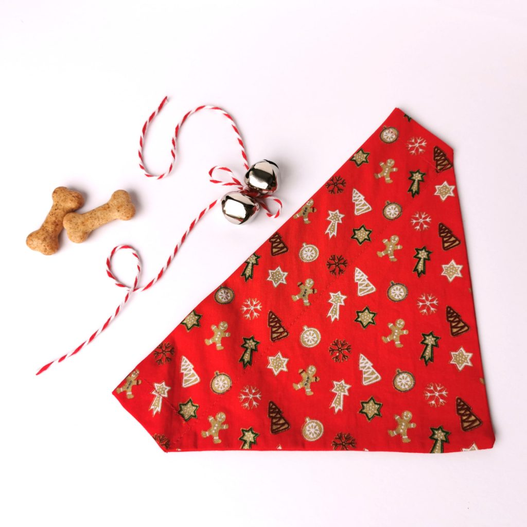 Christmas cookie bandana