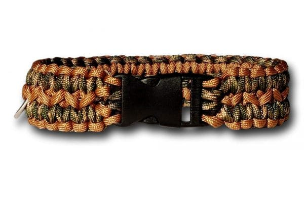 WIDE SOLOMON PARACORD DOG COLLAR