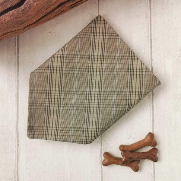 Country Plaid country style dog bandana
