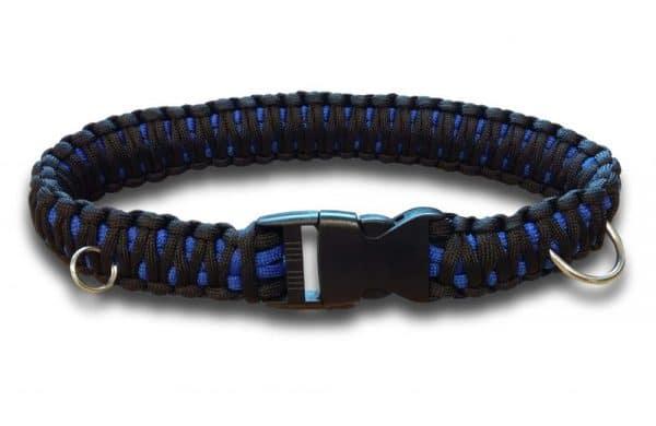 King cobra paracord dog collar