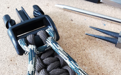 Perfectly practical paracord dog collars