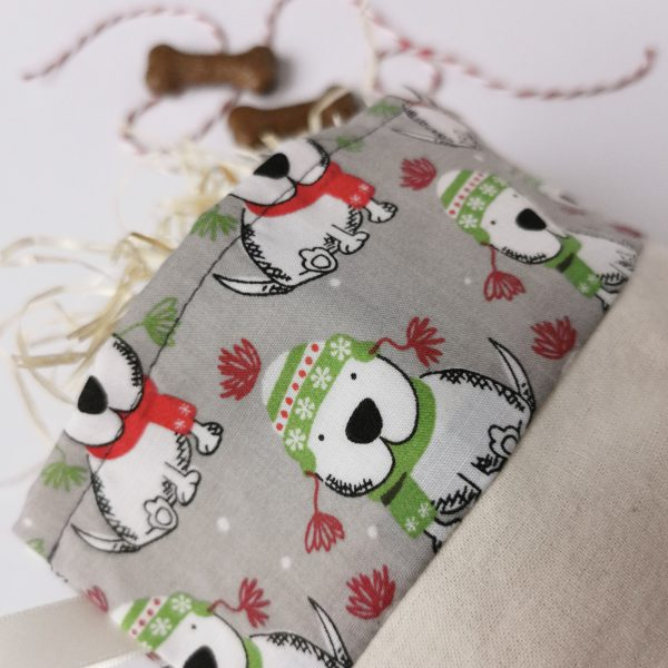 handmade cotton fabric stocking