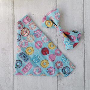 sweet things handmade dog bandana and bow tie